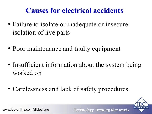 High Voltage Safety Operating Procedures For Engineers And