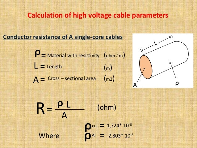 High voltage underground cables 14 conductor resistance greentooth Image collections