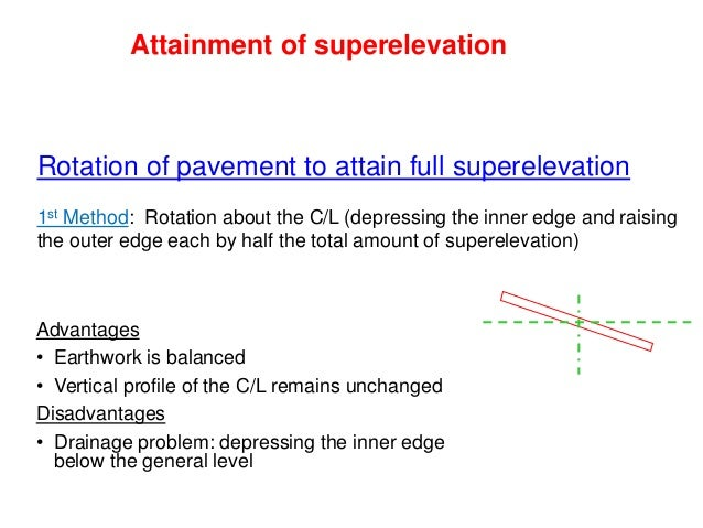 Widening of Pavement on Horizontal Curves • On horizontal corves, especially when they are not of very large radii, it is ...