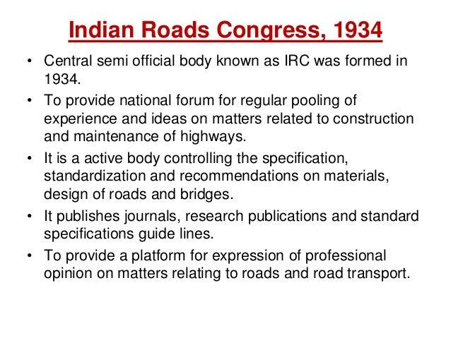 Indian Road Congress Codes Pdf