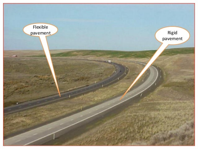 Typical layers of a flexible pavement Surface course: • Surface course is the layer directly in contact with traffic loads...