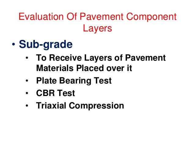 Flexible Pavement Layers (IRC) (CSA< 10 msa)
