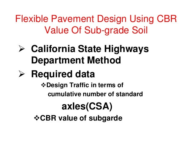 Thickness&composition(mm) Flexible Pavement Layers (IRC) (CSA< 10 msa)