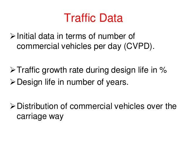 Flexible pavement design chart (IRC)