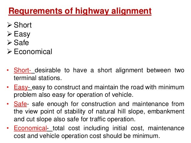 Factors controlling alignment cont... Obligatory points  Obligatory points through which alignment is to pass Examples:-b...