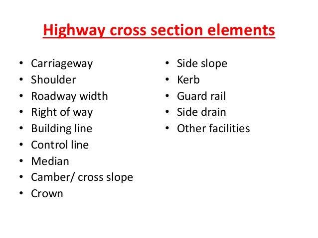 Two lane two-way road carriageway