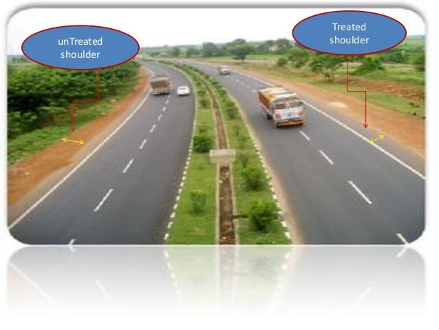 Traffic separators or median: • The main function is to prevent head on collision between the vehicle moving in opposite d...