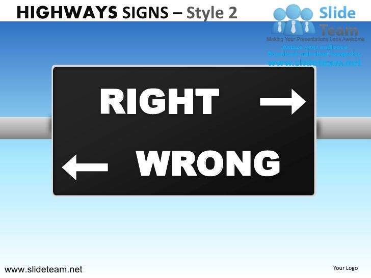 Highway Exit Sign Template Highway freeway...