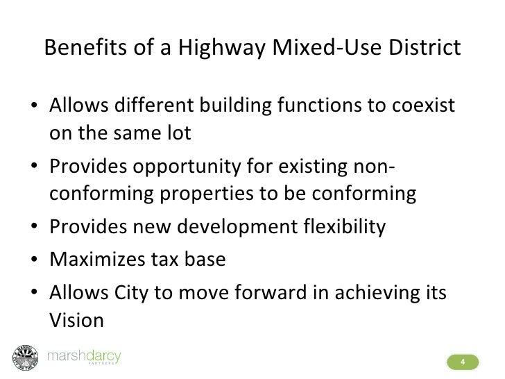 Highway Mixed Use District Presentation 20090727