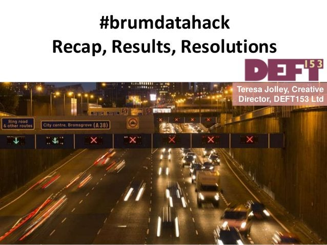 We asked organisations to donate their datasets and expertise... http://deft153.com/birmingham-highways-data-challenge-201...
