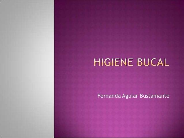 Fernanda Aguiar Bustamante