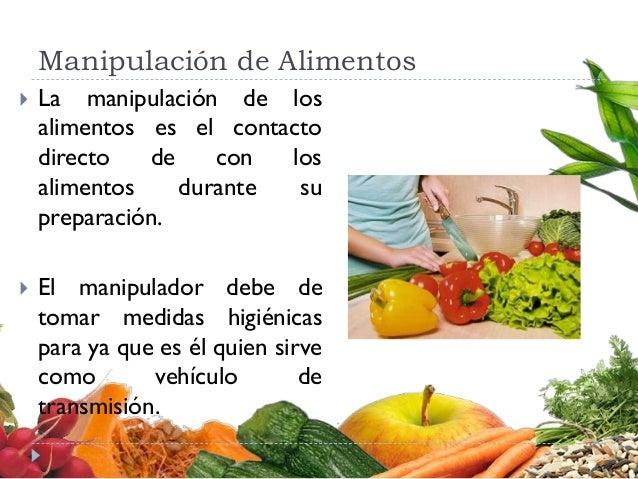 Higiene de los alimentos - Higiene alimentaria y manipulacion de alimentos ...