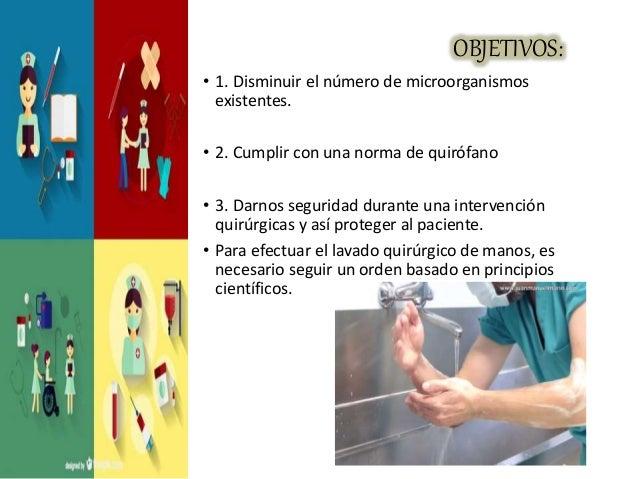 Higiene de manos quirurgico for Cuarto quirurgico