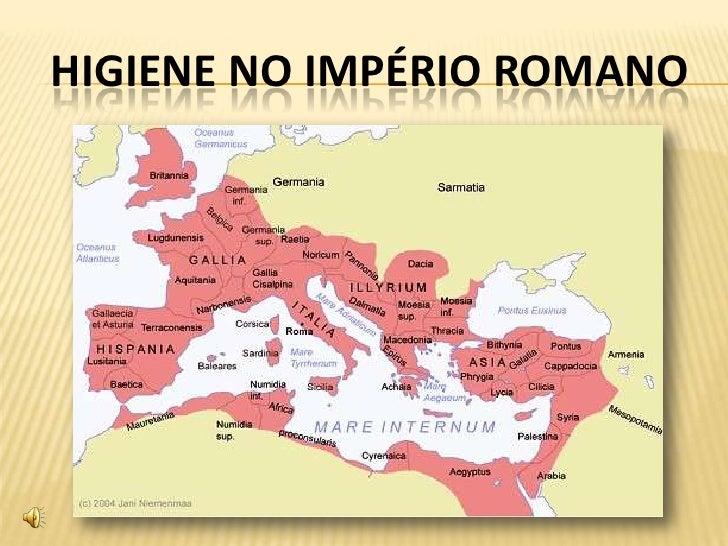 HIGIENE NO IMPÉRIO ROMANO<br />