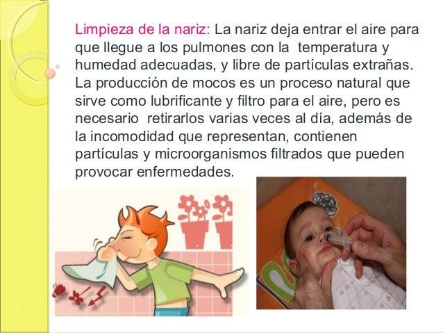 Higiene personal del niño
