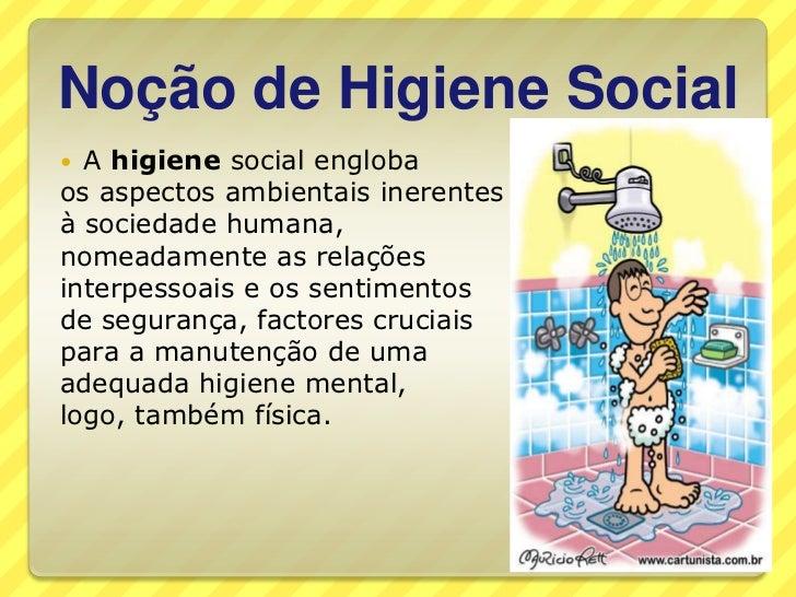 Suficiente Higiene pessoal e social ZG11