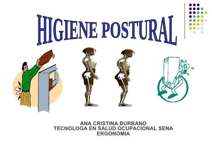 Higiene postural y pausas activas for Jardinero definicion