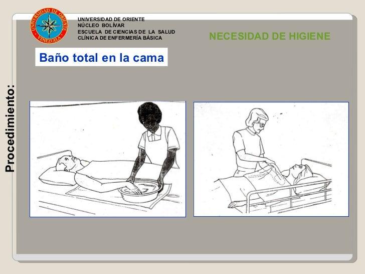 higiene corporal en el paciente. unidad 8 - Bano General Del Paciente En Cama