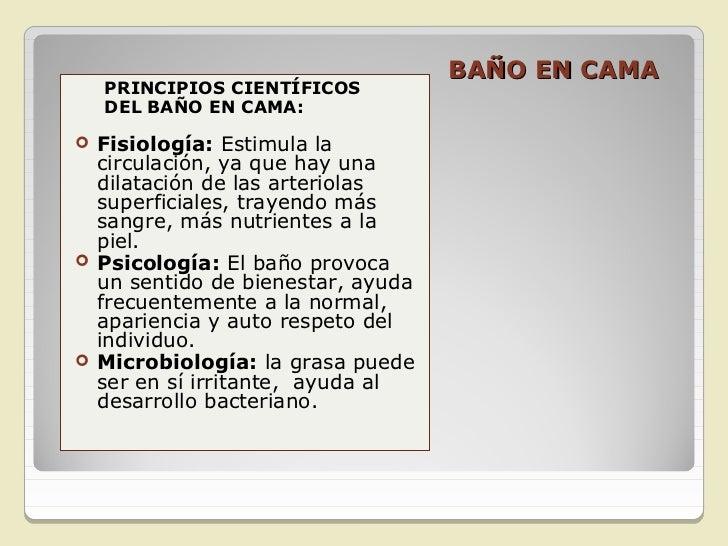 RECURSOS/EQUIPOS.   Platón y balde                                            BAÑO EN CAMA   Jarra con agua tibia   Cau...