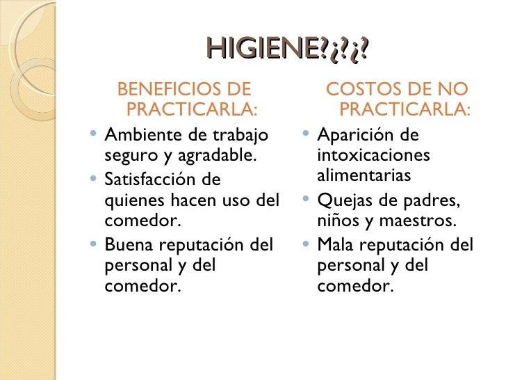 Higiene y manipulaci n de alimentos - Higiene alimentaria y manipulacion de alimentos ...