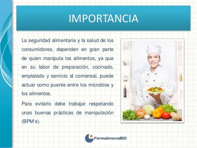 Higiene y salud de los manipuladores de alimentos - Higiene alimentaria y manipulacion de alimentos ...