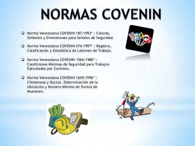 Norma covenin 474