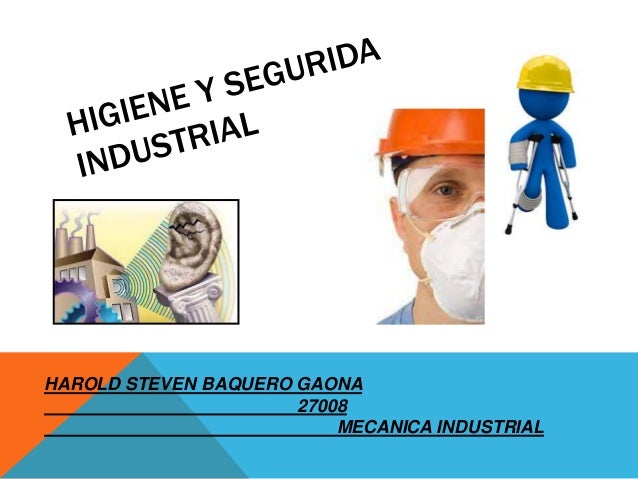HAROLD STEVEN BAQUERO GAONA 27008 MECANICA INDUSTRIAL
