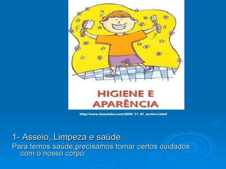 Higiene do corpo Slide 3