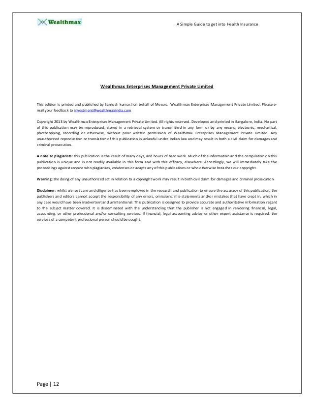 MedSpan Research   POPs White Paper final Our Individual Health Insurance Providers