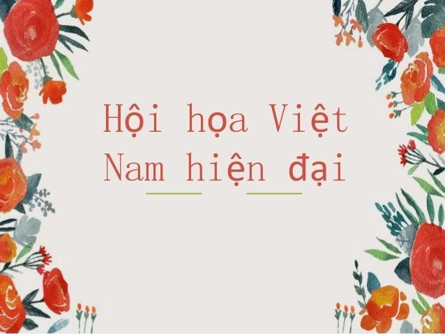Hội họa Việt Nam hiện đại