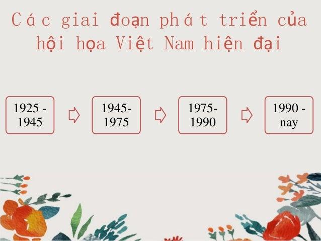 Hội họa Việt Nam từ 1990 đến  nay Slide 3