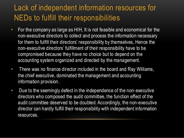 hih insurance collapse case study Ray williams established the hih insurance in 1968, before ce health plc, a british company,sample essay on collapse of hih insurance ray should establish effective code of conduct that enables employees to follow certain rules and avoid shortcuts in case of case study analysis.