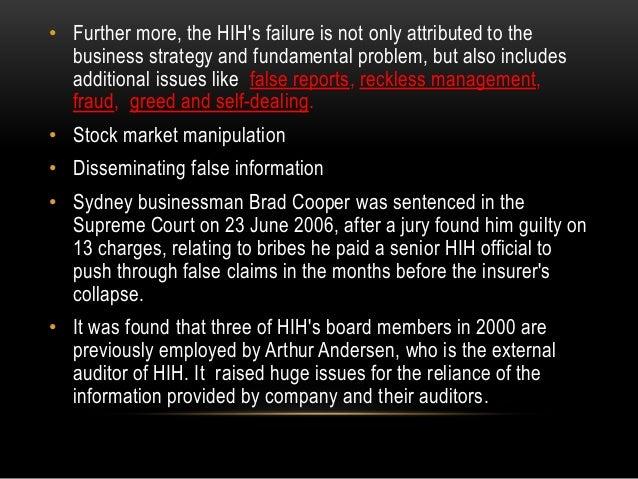 hih insurance case
