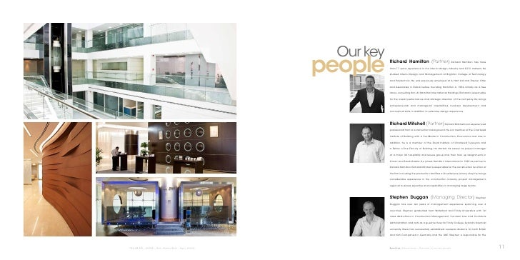 Our Key People Richard Hamilton Partner Than 17 Years Experience In The Interior Design Industry And GCC Markets He Studied