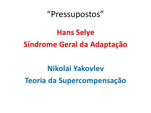 Supercompensação  Nikolai Yakovlev