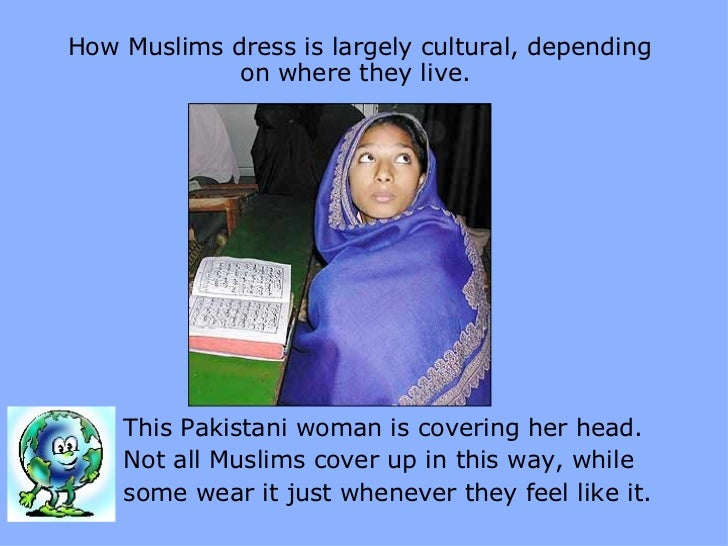 how to wear burqa scarf