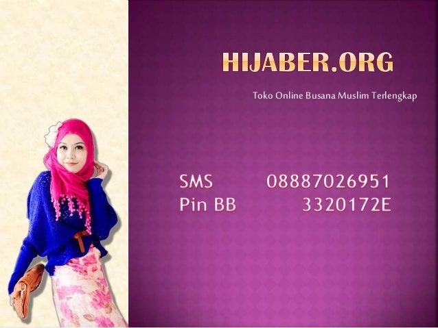Toko Online Busana Muslim Terlengkap