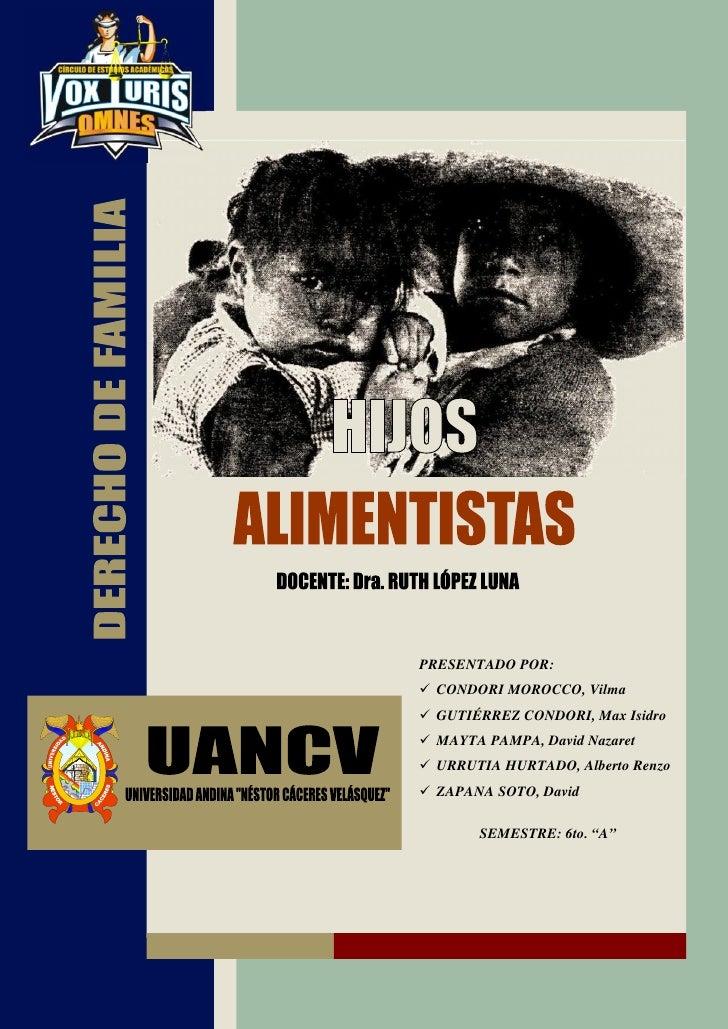 PRESENTADO POR: CONDORI MOROCCO, Vilma GUTIÉRREZ CONDORI, Max Isidro MAYTA PAMPA, David Nazaret URRUTIA HURTADO, Alberto R...