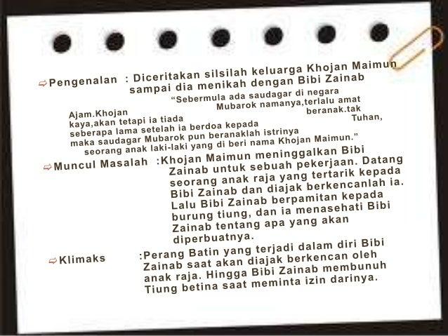 Contoh Nilai Hikayat Bayan Budiman Download Gambar Online Download