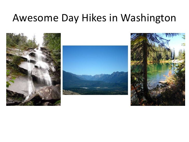 Awesome Day Hikes in Washington