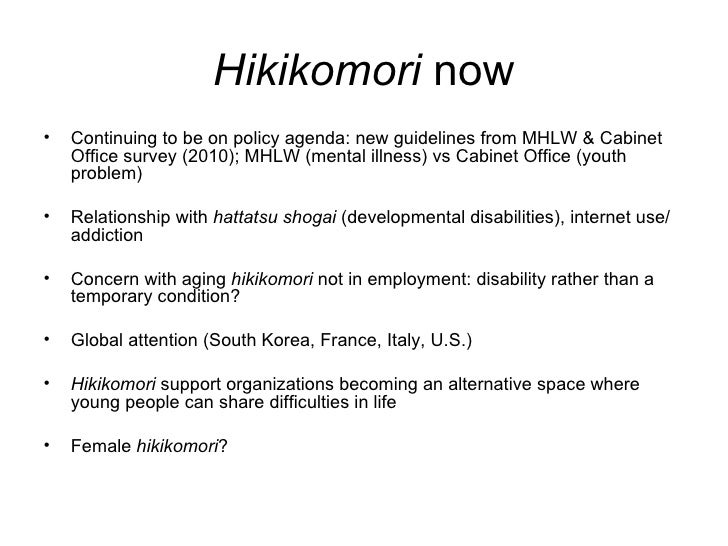 12 Who Are Hikikomori