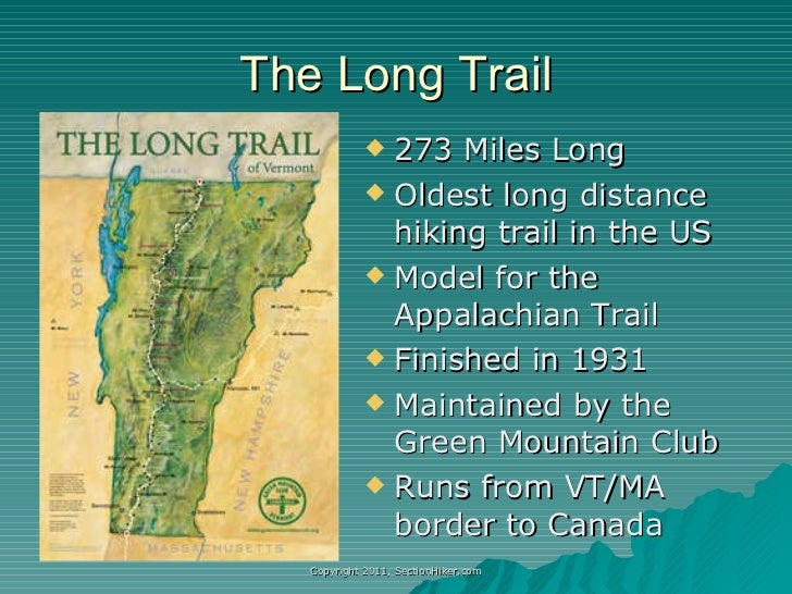Hiking Vermont's Long Trail
