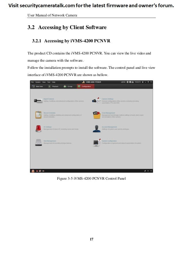 Hikvision DS-2CD2432F-IW English User Manual