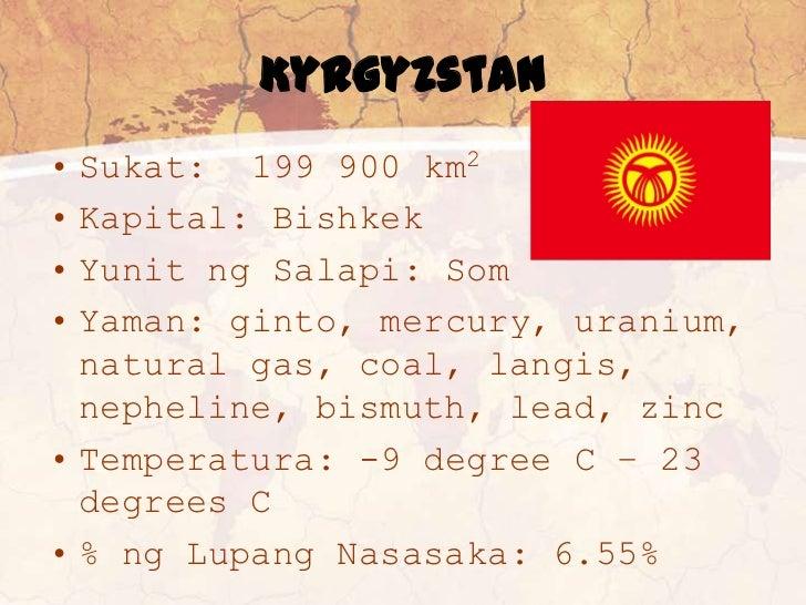 Ano ang hookup pangalan ng kyrgyzstan