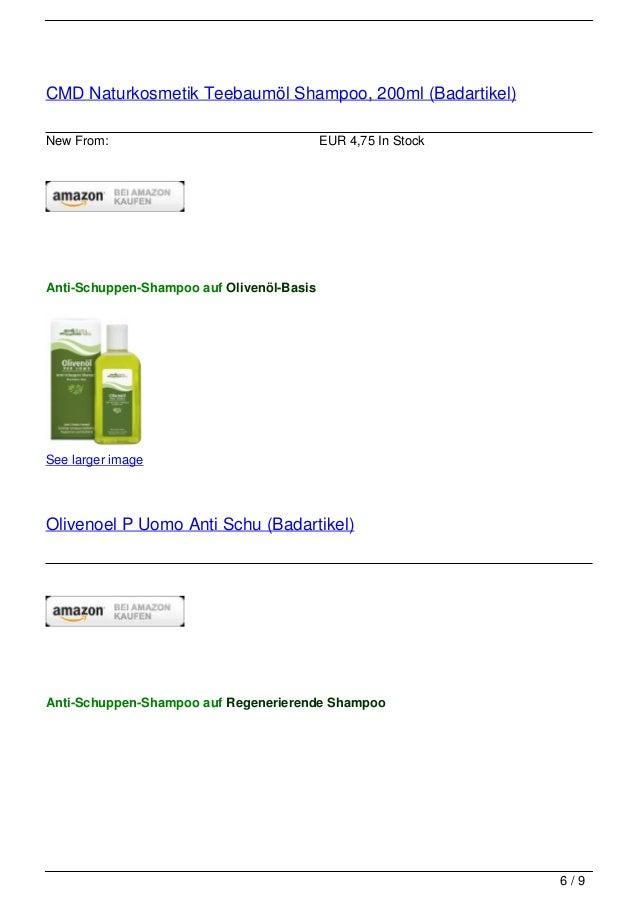 CMD Naturkosmetik Teebaumöl Shampoo, 200ml (Badartikel)New From:                                  EUR 4,75 In StockAnti-Sc...