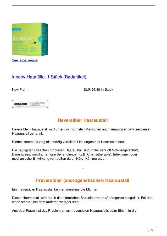 See larger imageInneov Haarfülle, 1 Stück (Badartikel)New From:                                       EUR 26,80 In Stock  ...