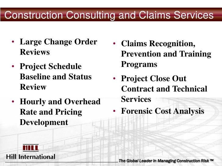 Edi Building Consultants : Hill claims services presentation linkedin ppt