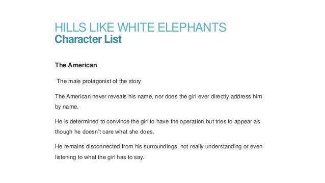 hills like white elephants theme
