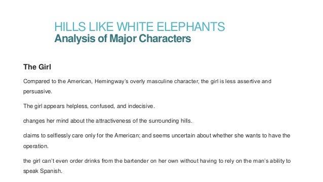 Claim and evidence for hills like white elephants