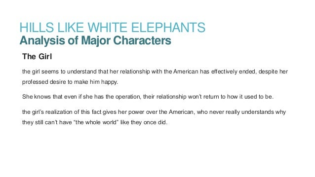 Hills Like White Elephants Essay Symbolism In Literature - image 8